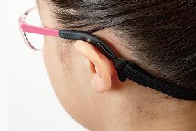 A standard head strap